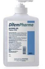 ALCOHOL GEL 70° 340 CC DIFEM PHARMA 340 CC